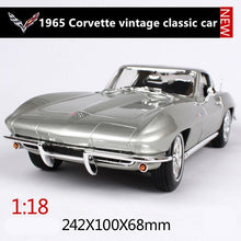 Load image into Gallery viewer, Maisto 1:18 1965 Chevrolet Corvette car alloy car model simulation car decoration collection gift toy Die casting model boy toy