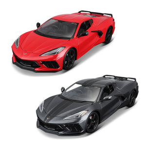Maisto 1:18  2020 Corvette Stingray Coupe car alloy car model simulation car decoration collection gift toy Die casting