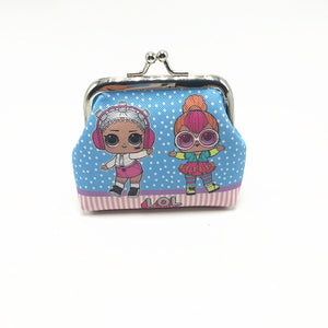 lol surprise children's coin purse digital printing surprise doll coin purse girl toys for kids random color toys for children