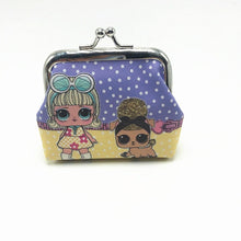 Load image into Gallery viewer, lol surprise children's coin purse digital printing surprise doll coin purse girl toys for kids random color toys for children