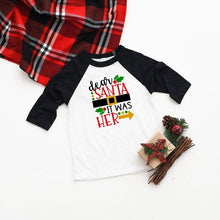 Load image into Gallery viewer, Trade Brother/sister for Gifts Boys Girls Holiday T-shirts Merry Christmas Gift for Baby Kids Children Unisex Tops Tee Shirts