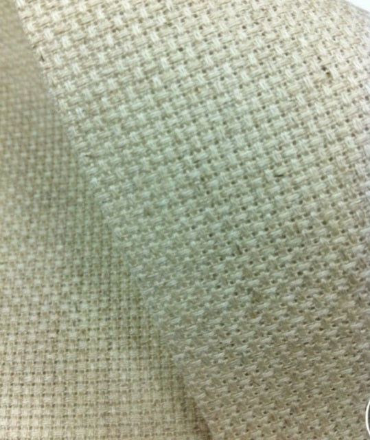 Aida 11ct /14ct linen aida cross stitch fabric canvas DIY handmade needlework sewing craft supplies