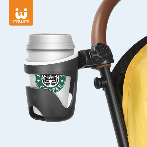 Cup Holder for Baby Stroller Bottle Holder Universal 360 Rotatable Baby Stroller Cup Holder Carrying Bottle Cart Bicycle holder