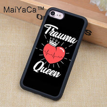 Load image into Gallery viewer, MaiYaCa Nurse Stethoscope Heart Nursing Heartbeat Case For iphone 12 mini 11 Pro Max X XR XS MAX SE 2020 6S 7 8 Plus 5S Cover