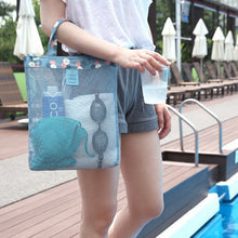 Load image into Gallery viewer, Sports Bag Set Swimming Sand-away Carrying Bag Beach Toys Swimming Pool Mesh Bag Tote Bags