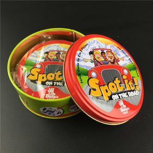 New English Version spot Board Games for Kids Education Toys On The Road Hip Hop  Board Game Cards Toy Enjoy It Game