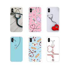 Load image into Gallery viewer, Mobile Phone Cases For Huawei Honor 4C 5C 6X 7 7A 7C 8 9 10 8C 8S 8X 9X 10I 20 Lite Pro Medical Medicine Health Heart Stethoscop