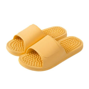 New Unisex Slippers Massage Shoes Indoor Home Soft Non-Slip Home Slippers Women Wear-Resistant Massage Comfortable Slippers