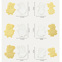 Load image into Gallery viewer, 6pieces LOL Surprise Doll Set of Cookie Cutters 3d Cartoon Biscuit Mould Plastic Pressing Fun Baking Tools Kitchen Supplies
