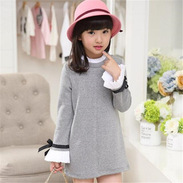 Kids Girls Clothes 2018 Spring Autumn Children Clothing Girls Blouse Child Shirt School Toddler Girl Blouses 4-15T Long Sleeve