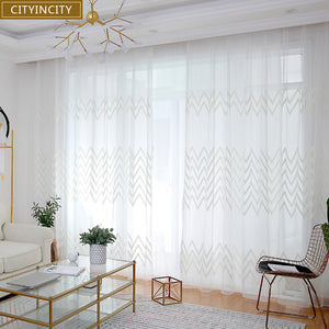 CITYINCITY Ribbon Curtains For livingroom modern Faux linen elegant Curtain for Kitchen Bedroom ready made curtain Customized