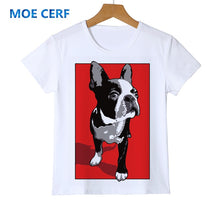 Load image into Gallery viewer, Children Cartoon Funny T shirt Kids Cat/Dog/Unicorn Summer Tops Baby Girls Boys Clothes Top quality Holiday gifts Y14-22