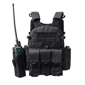 TAK YIYING 600D Nylon Molle Tactical Vest Body armor Hunting plate Carrier Airsoft 094K M4 Pouch Combat Gear Multicam