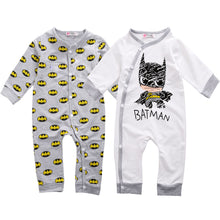 Load image into Gallery viewer, Pudcoco Kids Buttons Up Sleep and Play Suit Long Sleeve Newborn Infant baby boy girl Sleeper Sleepwear Pijamas Pyjamas
