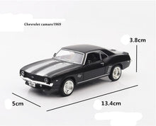 Load image into Gallery viewer, 1/36 Corvette Camaro G63 Grinding Black Alloy Car Model Simulation Kids Die-cast Vehicles Toys Gifts Collection
