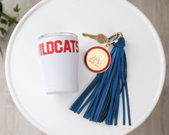 Monogram Tag & 8in Tassel Combo