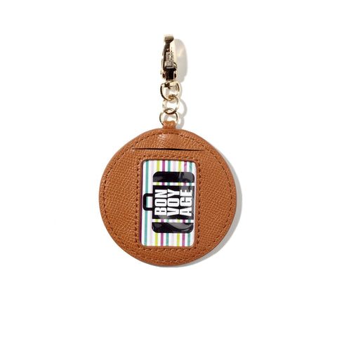 Calling Card Fob in Fuchsia