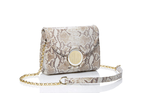 cheapest biggest selection so cheap The Emlyn Crossbody/Clutch Bag in SnakeSkin Print
