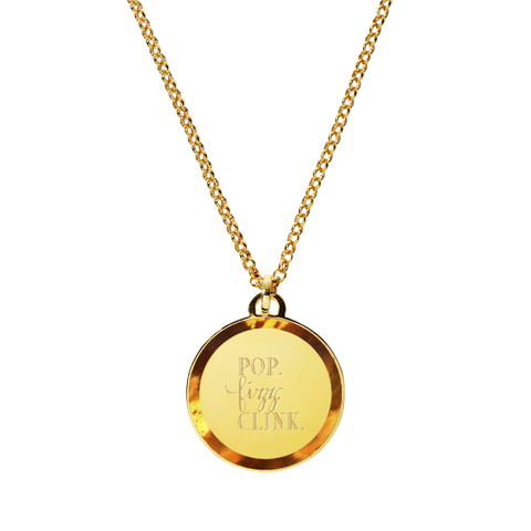 Palm Beach Lately's Tag Necklace
