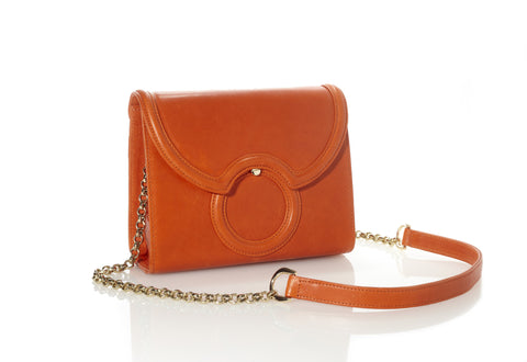 Sobrina Crossbody/Clutch Bag in Orange
