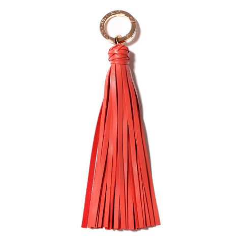 Classic Knot Tassel in Coral