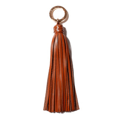 Classic Knot Tassel in Saddle Brown