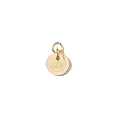 Mini Tag Charm in Blush