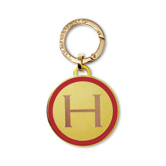 Classic Medallion Tag in Red
