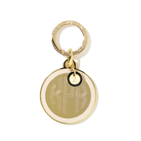 Classic Medallion Tag in Blush