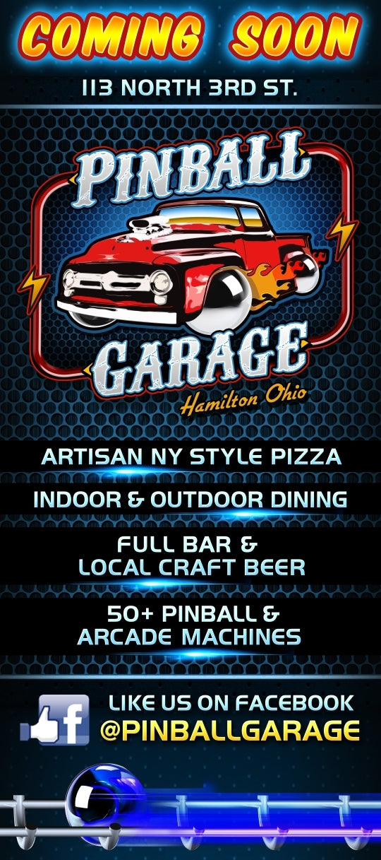 Pinball Garage Coming Soon!! 2019