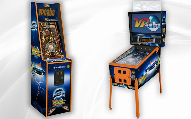 Back To The Future Virtual Pinball