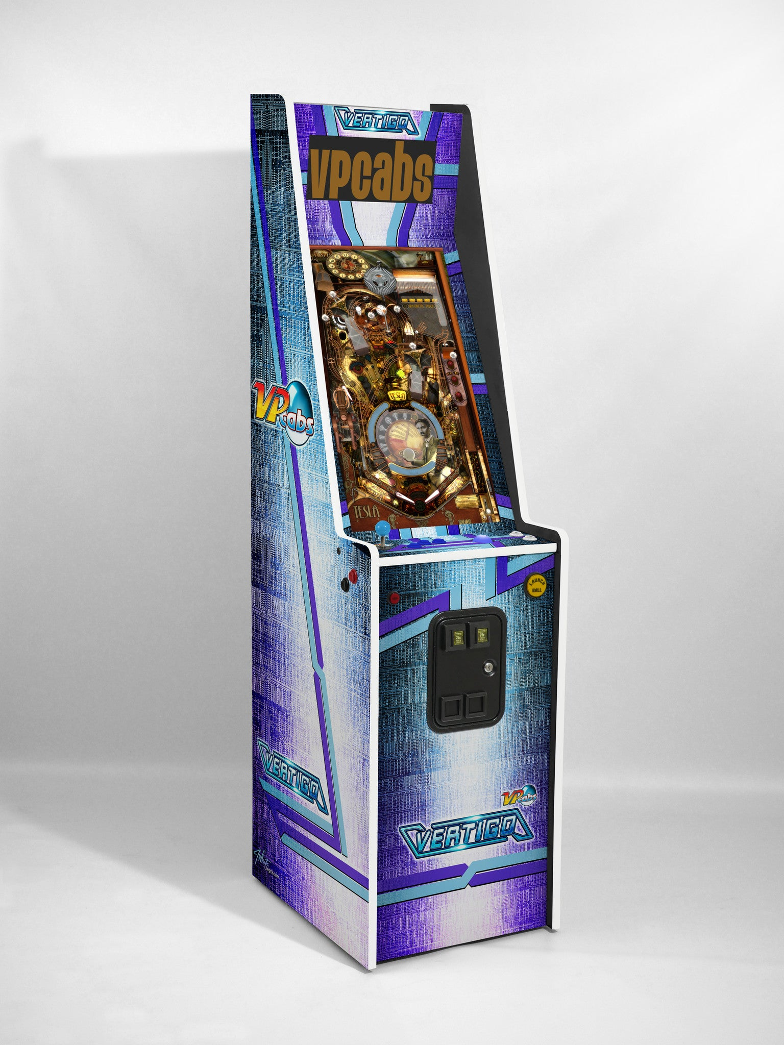 VERTIGO Pinball and Arcade Machine All-in-One - VP Cabs, LLC