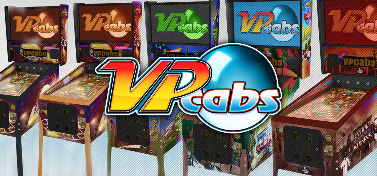 Virtual Pinball Machines by VPcabs