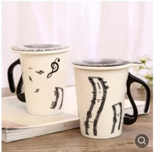 Load image into Gallery viewer, Decorative Coffee Cups With Lids