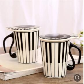 Decorative Coffee Cups With Lids