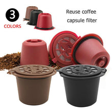 Load image into Gallery viewer, Reusable Nespresso Coffee Capsule With Plastic Spoon