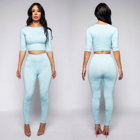 Camari Crop Top Set