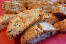 Load image into Gallery viewer, 2 lbs Biscotti Cookies - 1 lb Chocolate Nut & 1 lb Almond Nut