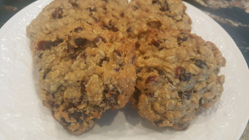 The Crazy Buyck Gluten Free Cranberry Oatmeal Cookies