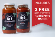 Load image into Gallery viewer, Mix & Match: Marinara, Meat Sauce - 2 Jars