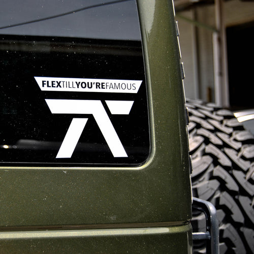 FTYF Decal (Pick Color)