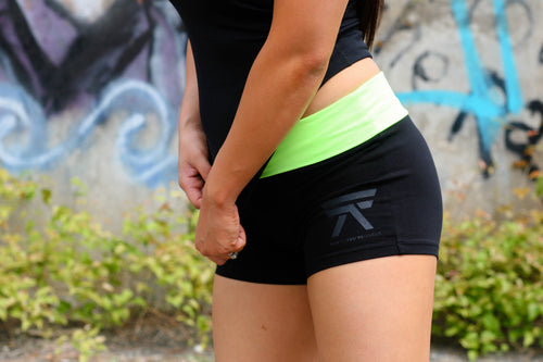 YOGA SHORTS (NEON YELLOW)