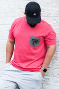 FASHION POCKET TEE