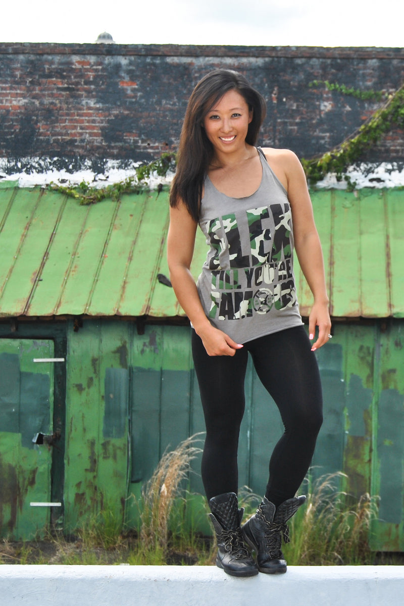 Ladies Camo Staple Tank