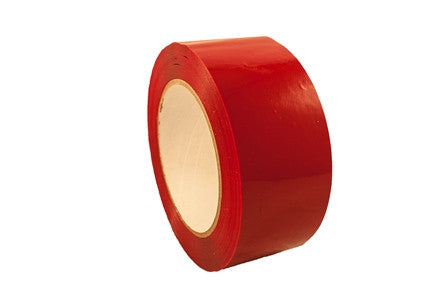 Red Polypropylene Film with Acrylic Adhesive