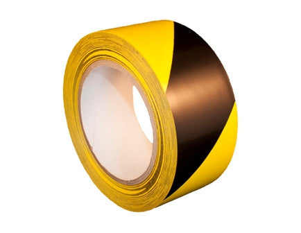 Yellow/Black Aisle Marking Tape