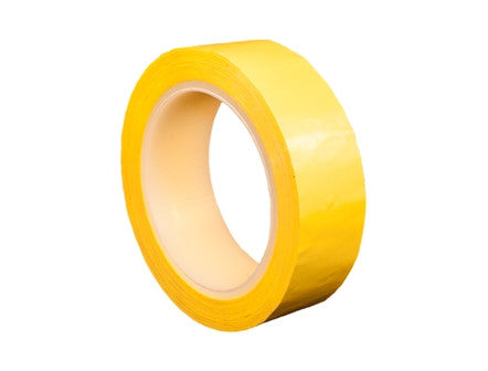 1mil Polyester with Yellow Acrylic Adhesive