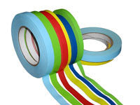 Flatback Paper Tape with a Low Tack Adhesive