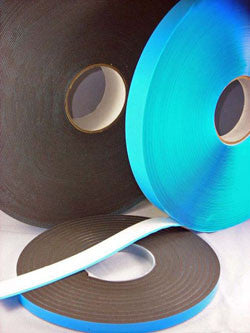 "Window Glazing Tape 1/8"" Double Coated PE Foam with Acrylic Adhesive on Poly Liner"