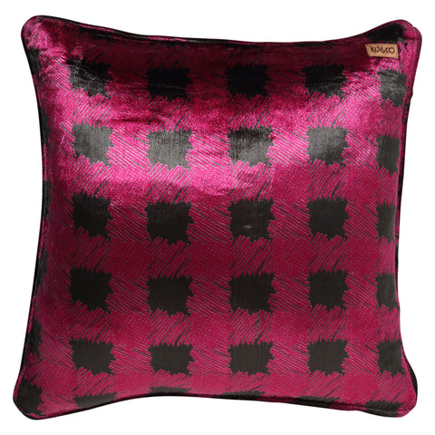 TARTY DARK FOREST VELVET CUSHION COVER